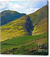 Skiddaw In The Lake District Canvas Print