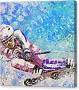 Skiing 06 Canvas Print