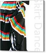 Skirt Dance Canvas Print