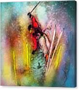 Skiscape 02 Canvas Print