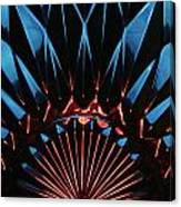 Skc 0269 Cut Glass Canvas Print