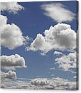 Skc 0328 The June Clouds Canvas Print