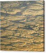 Skc 0341 Cloud Quilt  Canvas Print