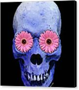 Skull Art - Day Of The Dead 1 Canvas Print