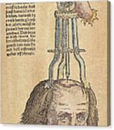 Skull Operation, 1517 Canvas Print
