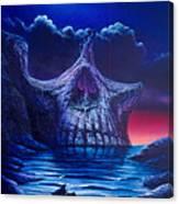 Skull Point Canvas Print