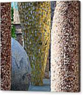 Skulpture Park Canvas Print