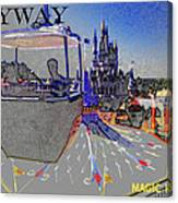 Skway Magic Kingdom Canvas Print