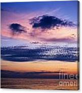 Sky After Sunset Canvas Print