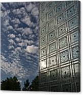 Sky And Building Canvas Print