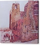 Sky City Mission Canvas Print
