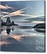 Sky Crosses Canvas Print