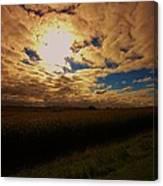 Farmland Sky Canvas Print