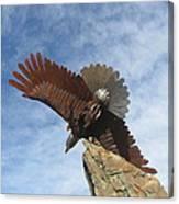 Sky Eagle Canvas Print