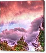 Sky Fire 2 Canvas Print