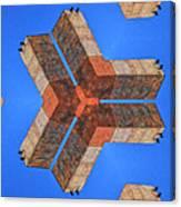 Sky Fortress Progression 4 Canvas Print