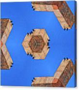 Sky Fortress Progression 6 Canvas Print