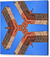Sky Fortress Progression 8 Canvas Print