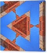 Sky Fortress Progression 9 Canvas Print