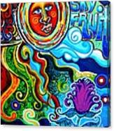 Sky Fruit Canvas Print