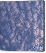 Sky Full Of Cloud Puffs Canvas Print