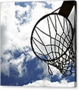 Sky Hoop Canvas Print