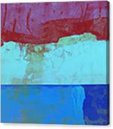Sky Into The Sea Canvas Print