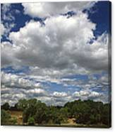 Sky Land Water Canvas Print
