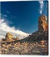 Sky Masters - Trona Pinnacles Canvas Print