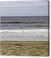 Sky Sea Surf And Sands Canvas Print