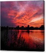 Sky On Fire 2 Canvas Print
