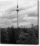 Sky Over Berlin Canvas Print