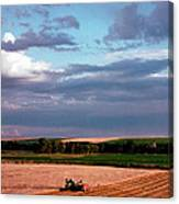 Sky Over Harvest Canvas Print