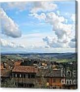 Sky Over Tuscany Canvas Print