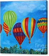 Sky Skittles Canvas Print