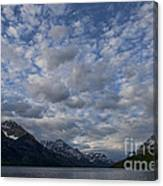 Sky Water Mountains Canvas Print