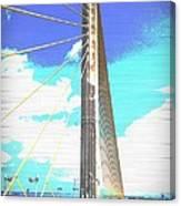 Skybridge Canvas Print