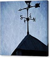 Skyfall Deer Weathervane  Canvas Print