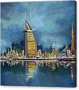 Skyline Burj-ul-khalifa  Canvas Print