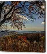 Skyline Drive Canvas Print