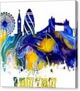 Skyline London England  Canvas Print