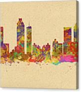 skyline of Atlanta Georgia Canvas Print