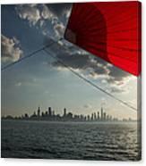 Skyline Sail Canvas Print