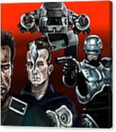 Skynet Vs Ocp Canvas Print