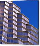 Skyscraper Photography - Downtown - By Sharon Cummings Canvas Print