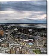 Skyway Early Spring 2014 Canvas Print