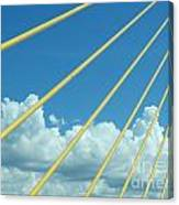 Skyway To The Clouds Canvas Print