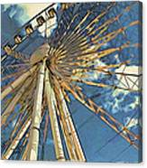 Skywheel At Niagara View Canvas Print