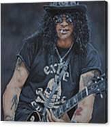 Slash Live Canvas Print