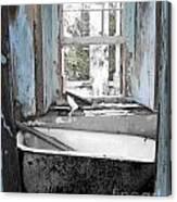 Slave House Exuma Bahamas Canvas Print